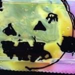 ハロウィンステンドグラス