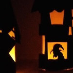 光る!ハロウィン屋敷