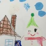 雪のテーマ画