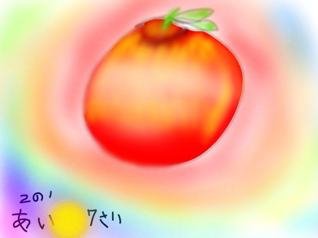 カラフルな林檎